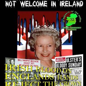 British Queen Not Welcome