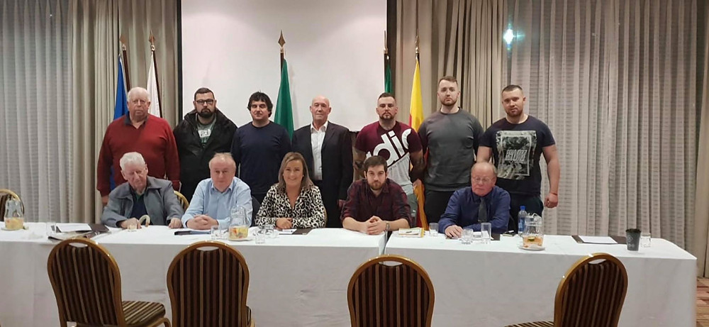 Newly Elected Ard Comhairle for 2018/2019