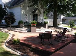 Fire-Pit & Brick Patio