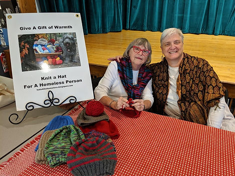 Barb Melom and Val Garber knitting.jpg