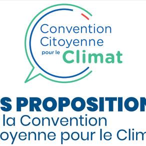 LA CONVENTION CITOYENNE POUR LE CLIMAT