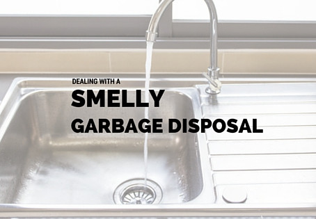 Tackle a Stinky Garbage Disposal