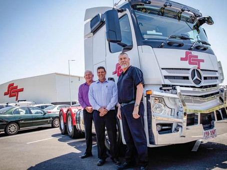 SCT's truck fleet gets upgrade to meet increased business