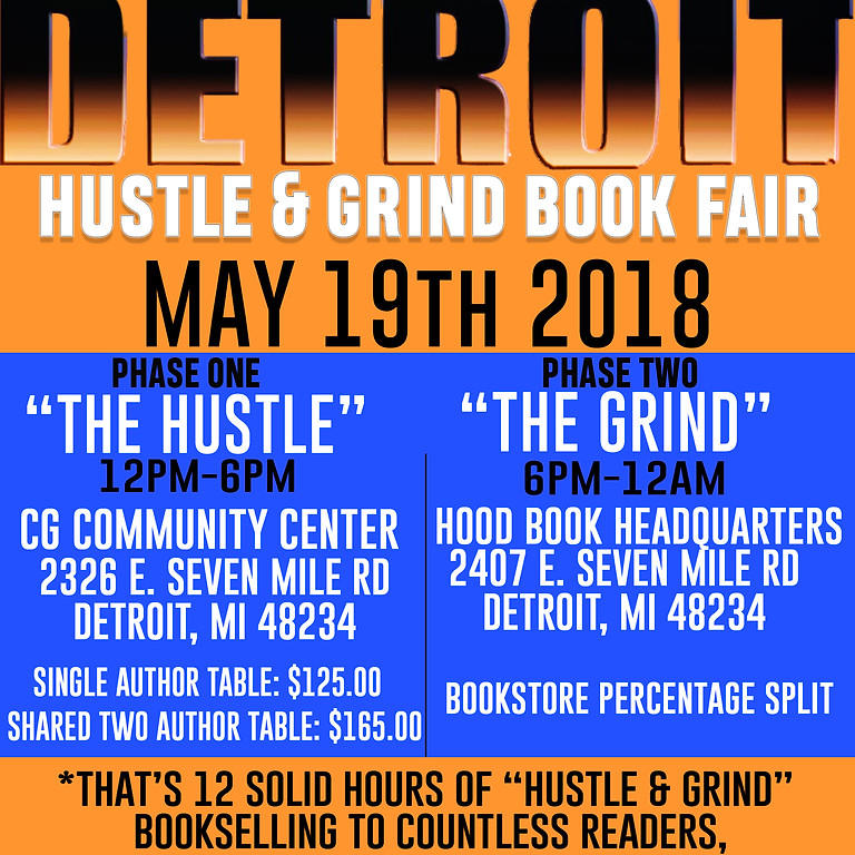 Detroit Hustle and Grind