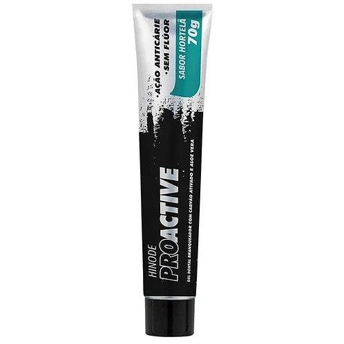 Gel Dental Carvão Ativado + Aloe Vera Proactive 70g