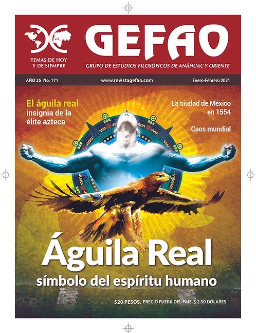Águila Real, símbolo del espíritu humano.