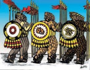 Los aztecas fabricaron la pólvora