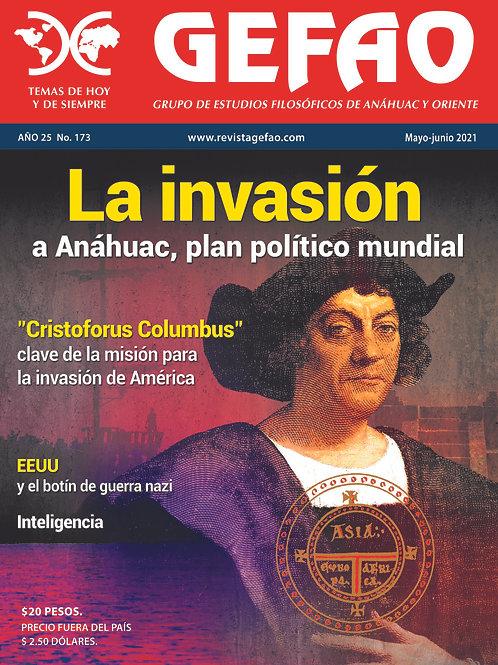 La invasión a Anáhuac, plan político mundial