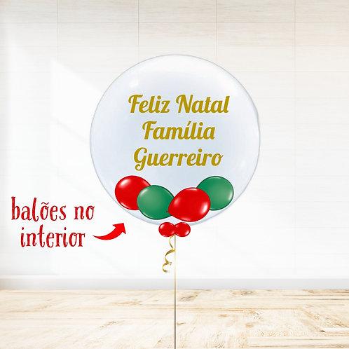 Balão Personalizado Feliz Natal