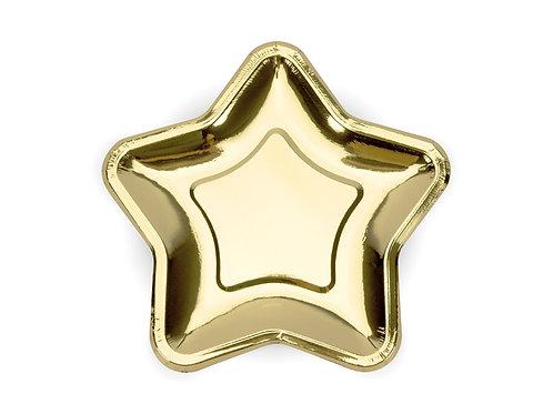 Pratos Estrela Dourada
