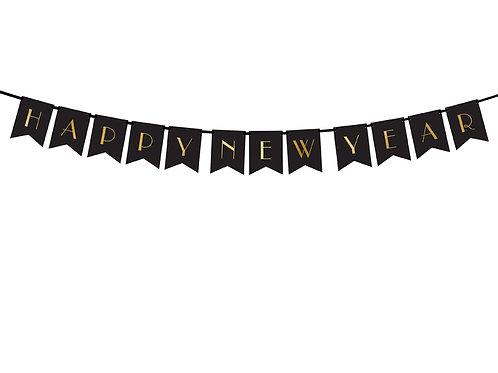Bandeirola Happy new year