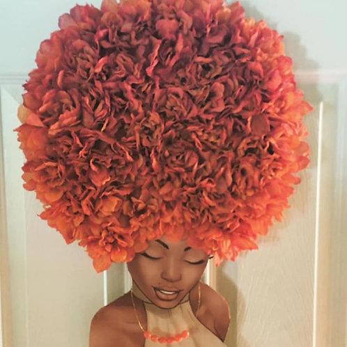 Diva Wreath Ginger