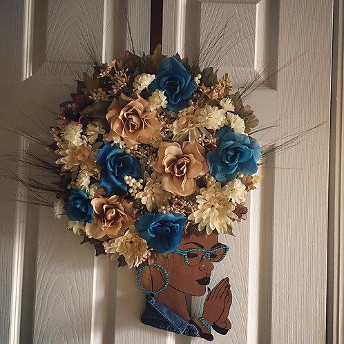Diva Wreath Ocean