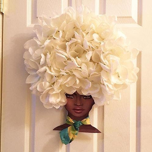 Diva Wreath Ivory