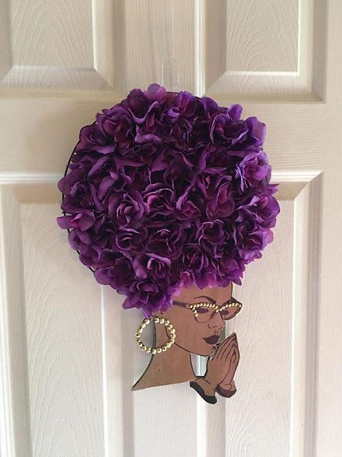 Diva Wreath Violet