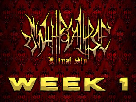 Synthpocalyse: Ritual Sin - Week 1