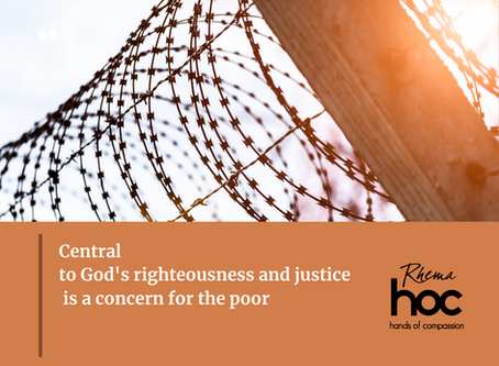 Central to God's righteousness and justice is a concern for the poor