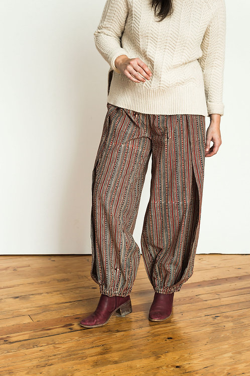 Harem Pants - black & red