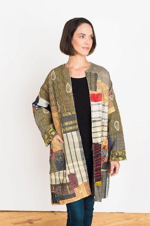 Hand Stitched Coat