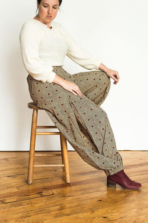 Harem pants tan squared