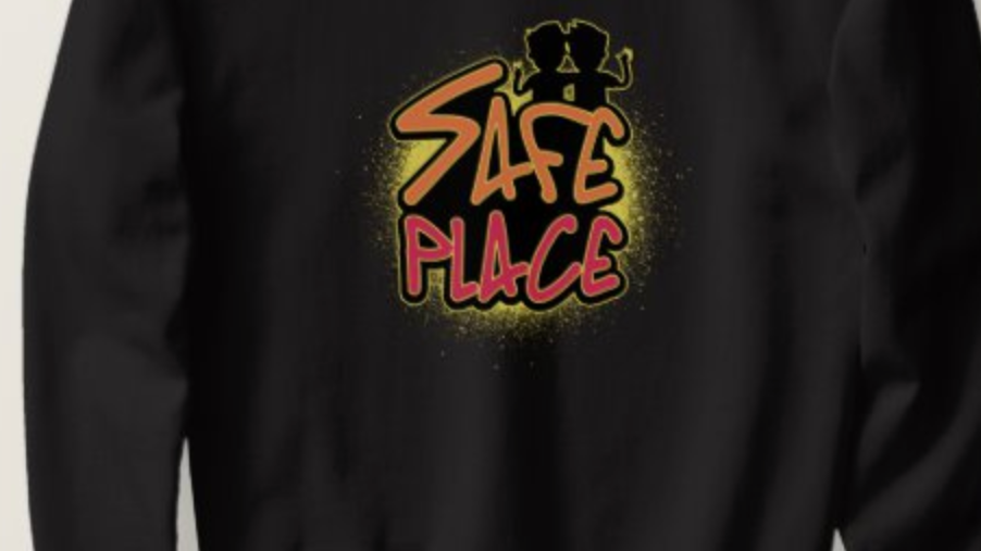 Safe Place Crewneck Sweatshirt