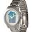Thumbnail: The Art House Unisex Oversized Silver Bracelet Watch