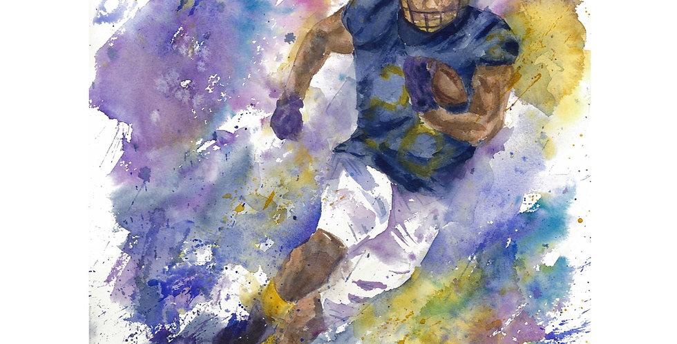 football player sports college nfl quarterback