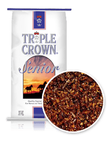 Triple Crown Senior Horse Feed Perry, GA Clopine Farm Supply