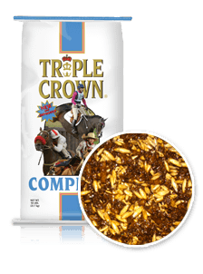 Triple Crown Complete Horse Feed Perry, GA Clopine Farm Supply