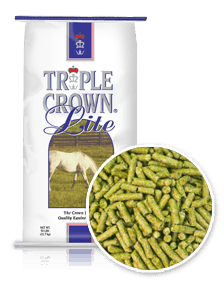 Triple Crown Lite Horse Feed Perry, GA Clopine Farm Supply