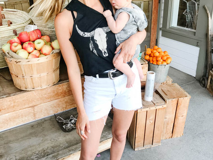 Easy, Everyday Spring/Summer outfit ideas for New Moms