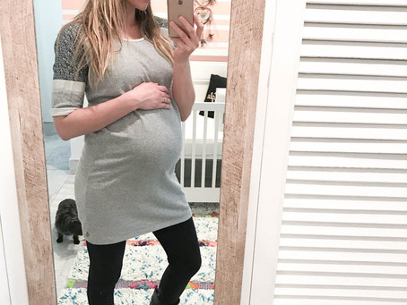 Easy, Everyday Spring/Summer outfit ideas for Pregnancy