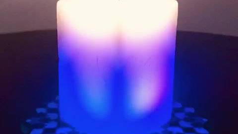 Colour-Changing Candles