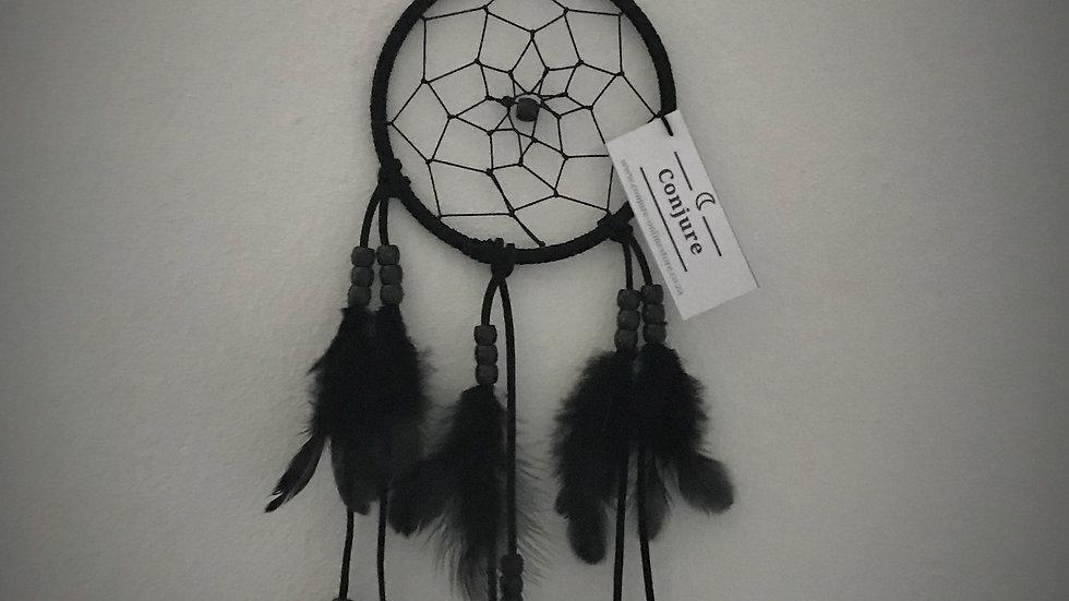 Large Black Dreamcatcher