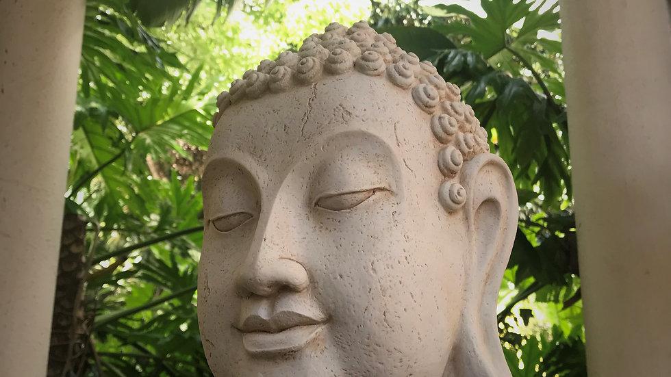 Large Buddha-Head Statue