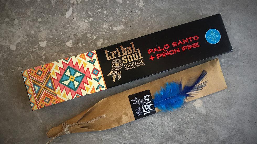 Tribal Soul-Incense Sticks - Palo Santo+Piñon Pine