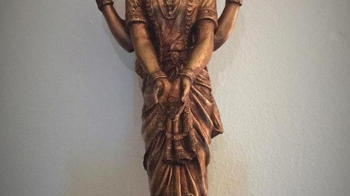 Standing Lakshmi - 40cm x 17cm