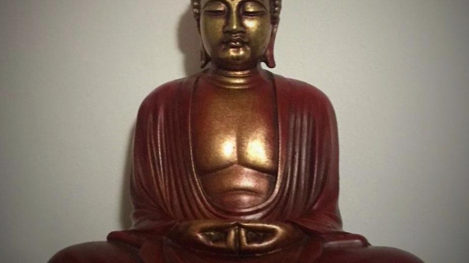 Kamakura Meditating Buddha (Red)