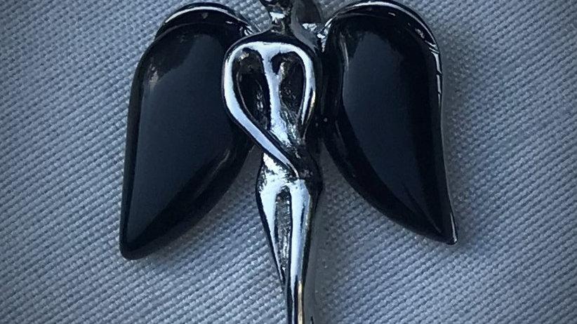 Angel Pendant (Onyx)