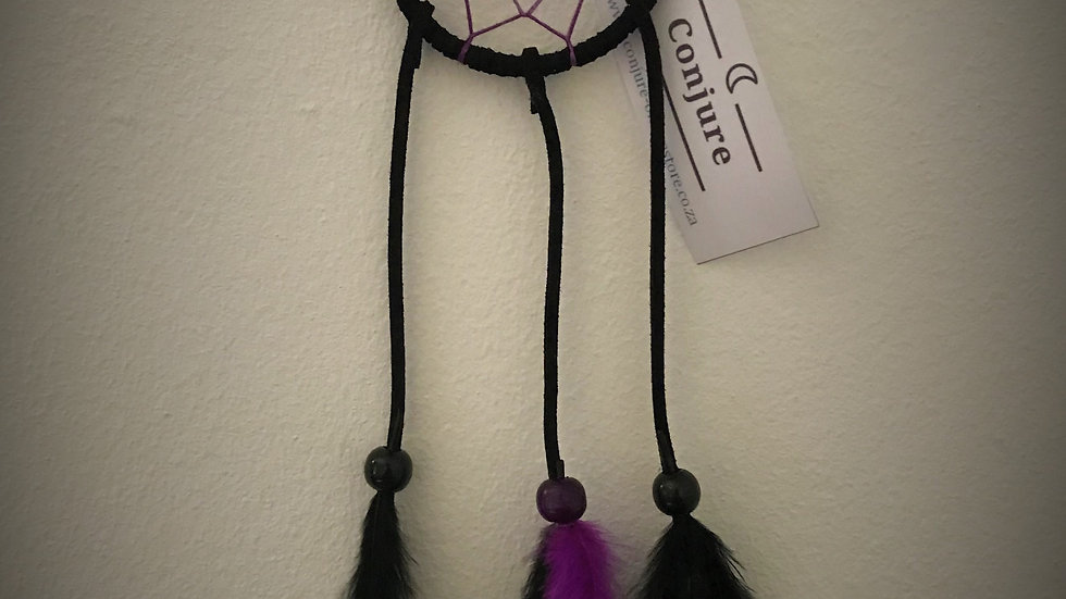 Dreamcatcher - (Black/Purple)