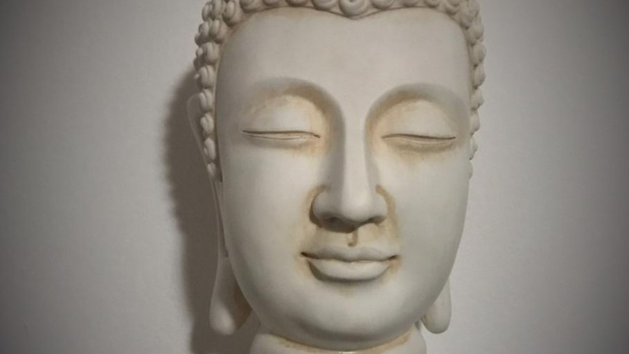 Indian Buddha Head