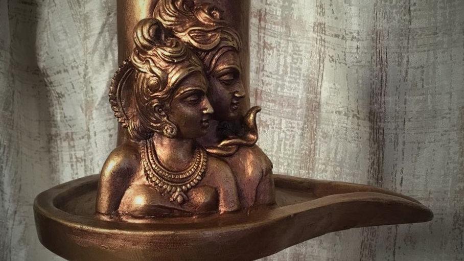 Shiv-Parvati Lingam/Shivling