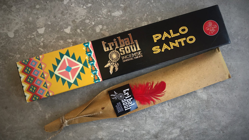 Tribal Soul-Incense Sticks - Palo Santo