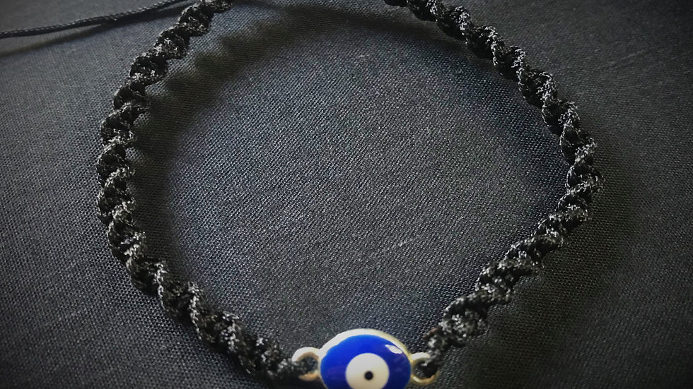 Evil-Eye Bracelet (Black)