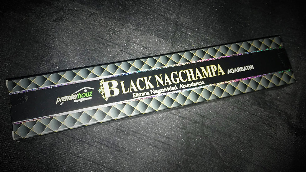 Black Nagchampa Incense