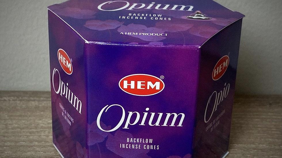 Opium - (40) Backflow Incense Cones