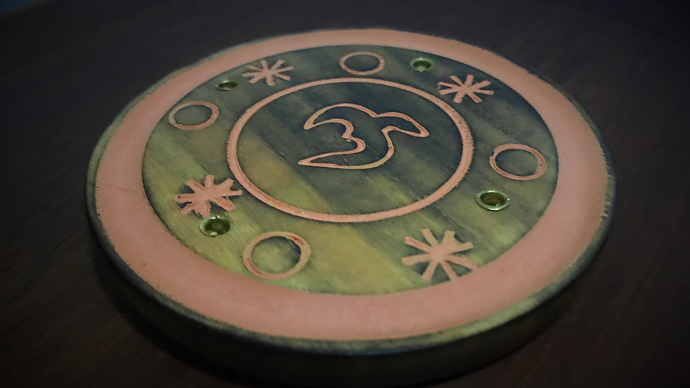 Round-Wooden Incense Holders