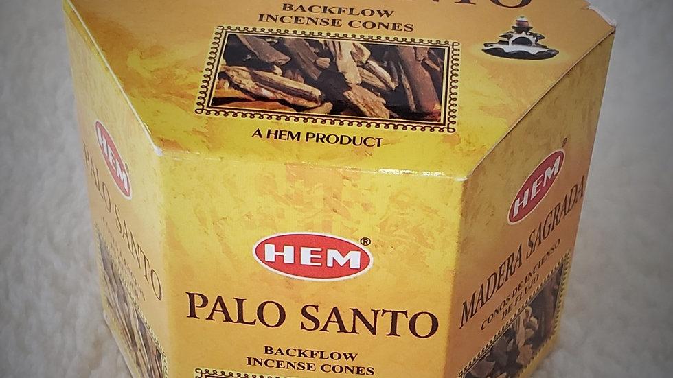 Palo Santo - (40) Backflow Incense Cones