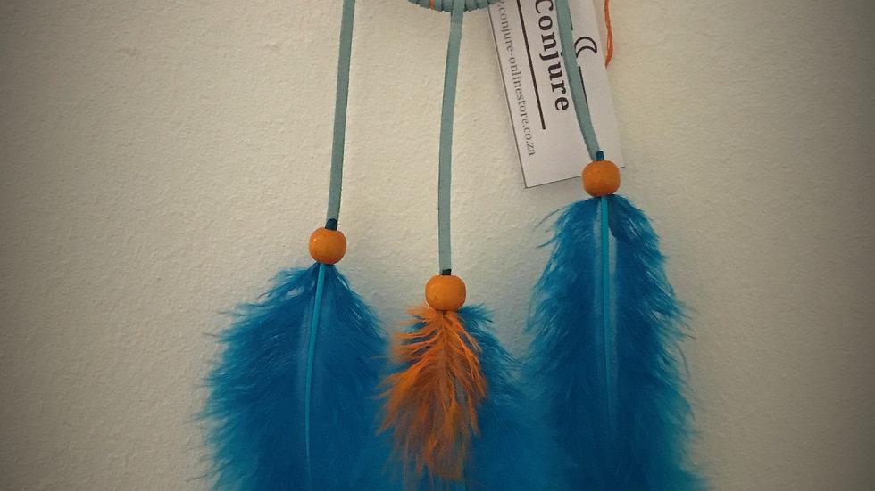 Dreamcatcher - (Blue/Orange)