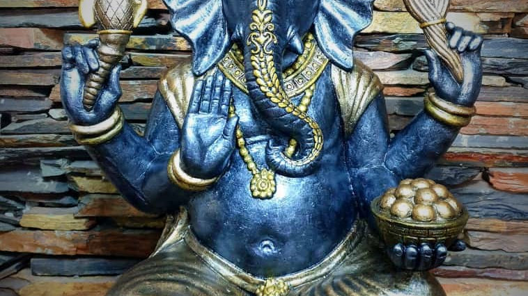 Large Ganesha-Statue - 80cm x 55cm